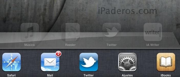 Funcionamiento de la multitarea en iOS en iPaderos