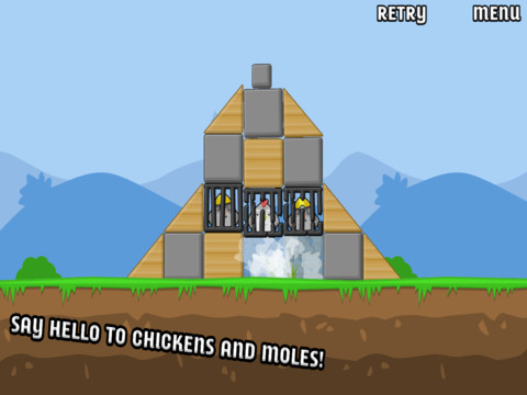 Chickens And Moles