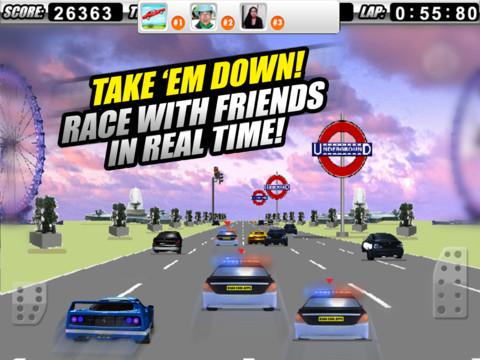 A Cop Chase Car Race 3D PRO 2