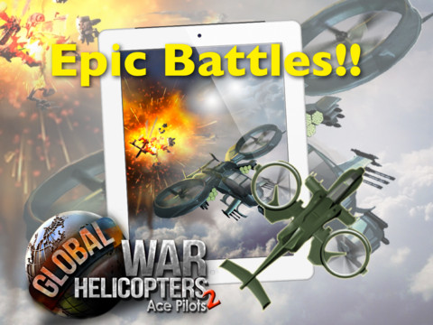 Ace Pilots- Global War Helicopters HD