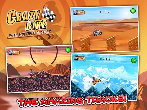 Crazy Bike Multiplayer - Racing games HD