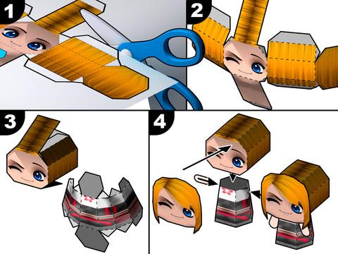 PaperChibi - Crea Avatares de Papel