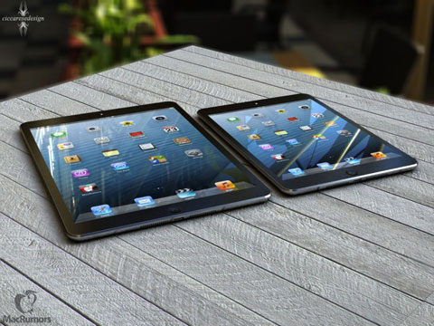iPad 5 generado por ordenador