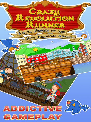 Crazy Revolution Runner-Battle Heros of the New American Kingdom