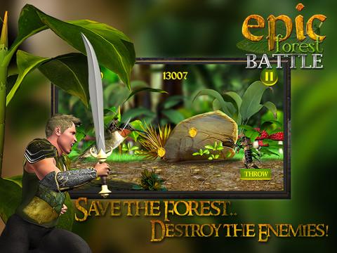 Epic Forest Battle