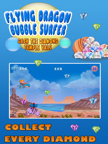 Flying Dragon Bubble Surfer