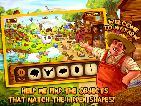 Hidden Objects- Farm Mystery, Full Game
