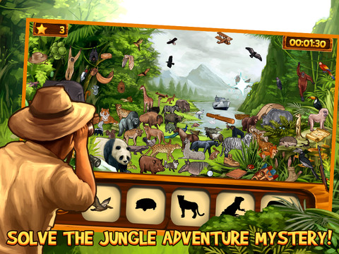 Hidden Objects- Mystery Gardens Adventure, Full Game