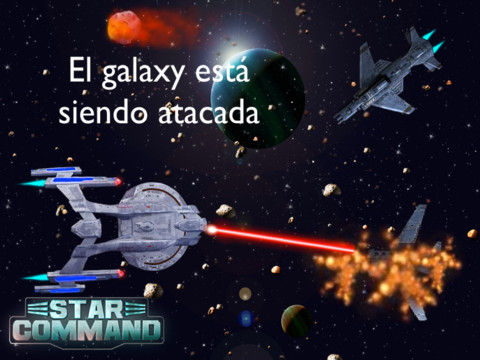 Star Command - Multiplayer space shooter game