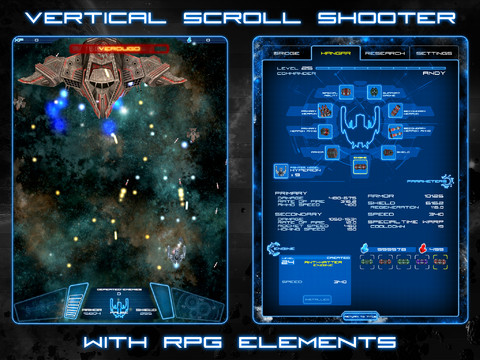 Fornax- Space Scroll Shooter