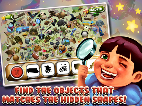 Hidden Objects- Where's the Mystery Object?