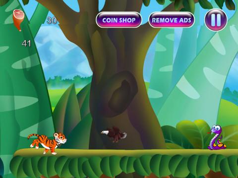 Jungle Journey- Tiger Run PRO
