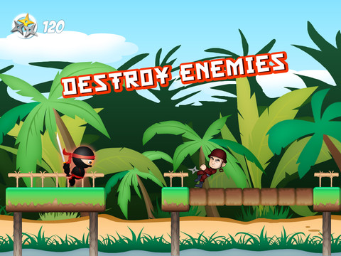 Jungle Ninja Adventure HD