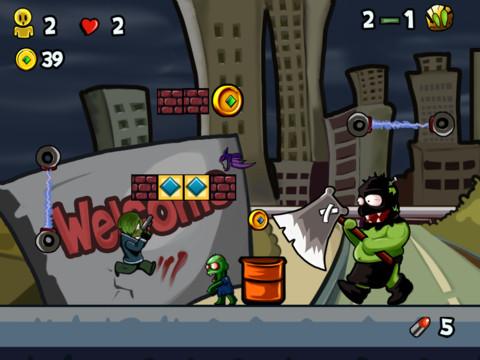 Super Zombie Rangers vs. Zombies - Mutant Plants World