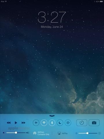 iOS 7 - Control Center
