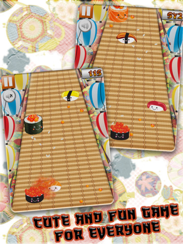 A Sushi Speed in Japan Food Race Track Game
