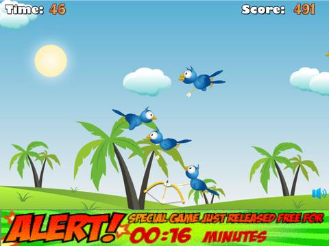 Bird Hunter Bow And Arrow HD