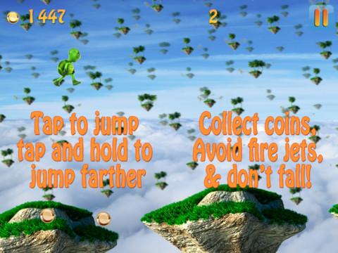 Fun Turtle Run - Floating Islands in the Sky