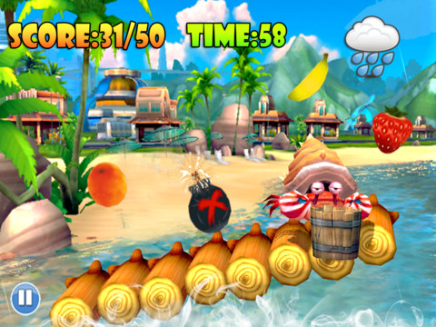 Mega Crab Run - Crazy Candy Saga HD