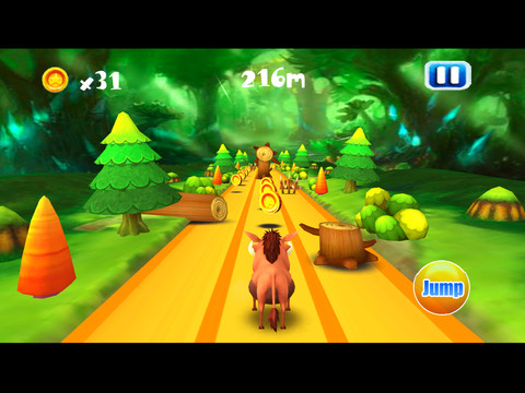 Mega Pig Run Bear Forest HD