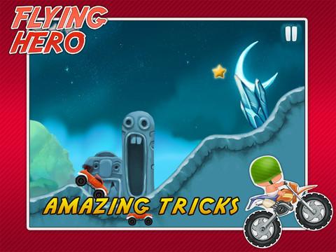 Real Flying Racing Rider Hero Plus