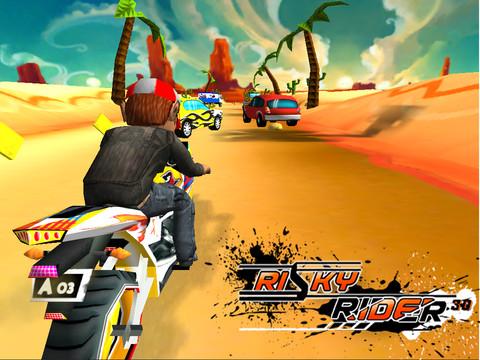 Risky Rider 3D