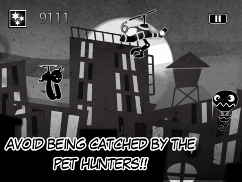 Shadow City Dash- Escaping The Pet Hunters Full Edition