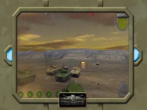 Tank battle - World of tanks 3D