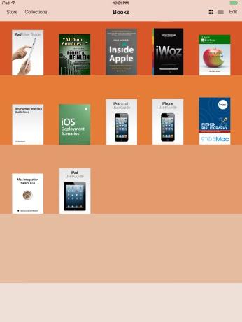 iOS 7 - iBooks