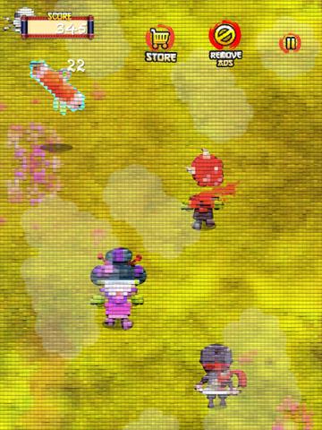 A Tiny Pixel Ninja Zombie Killer Story - Full version