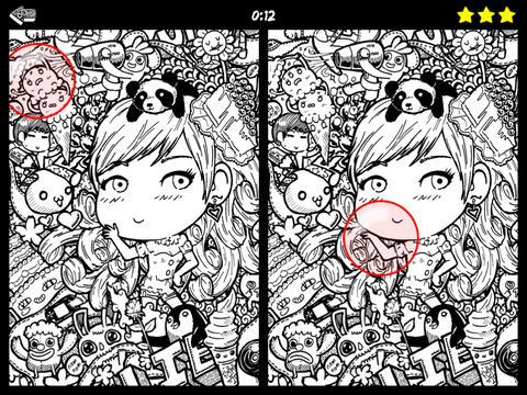 Hidden Doodles Differences
