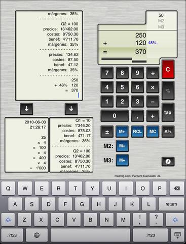 Percent Calculator XL