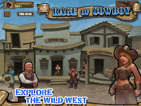 Rage Of Cowboy