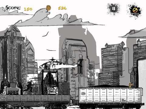 Sketch Man Subway Sprint - Comic Dash for Survival Elite Version