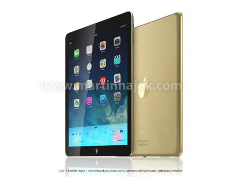 iPad 5 - champán