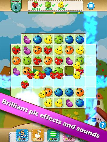 Farm Fruit Heroes - Match 3 story saga