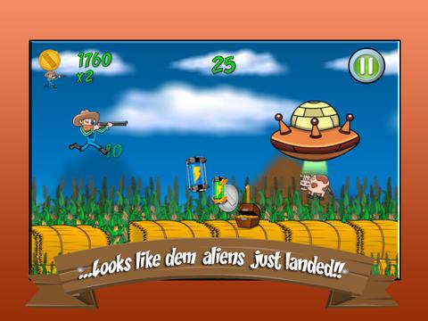 Farmer Ben Against The Aliens Pro