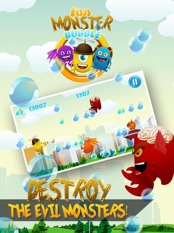 Fun Monster Bubble Clash