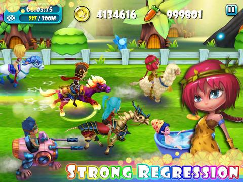 Horse Racing:Unicorn VS Dragon
