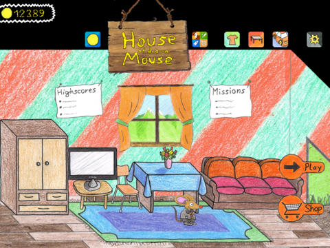 House of drawn Mouse - iPad