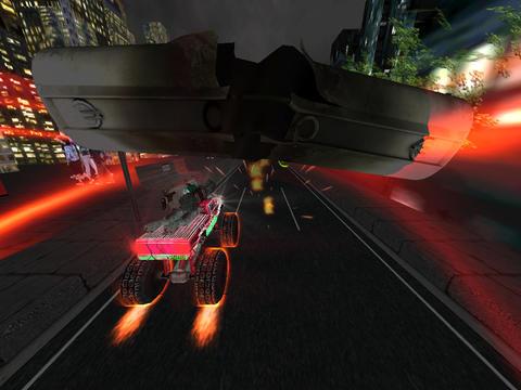 Monster Trucks VS Army Night Smash