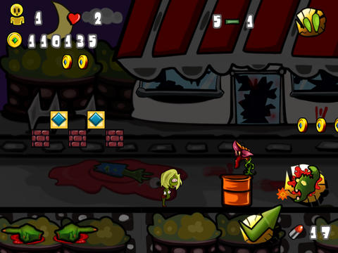 Super Zombie Ninja Pro- Warrior Bros Games