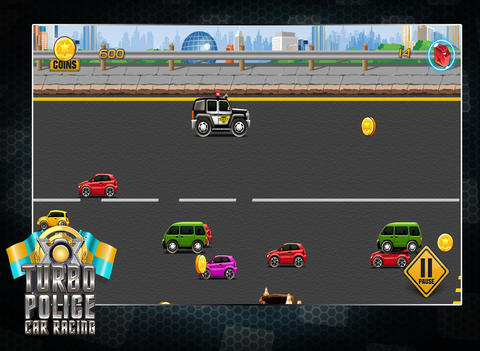Turbo Police Car Racing - In Hot Pursuit