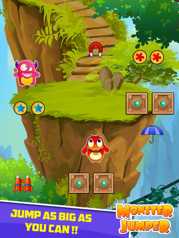 Monster Jump - Pro Jumping Game