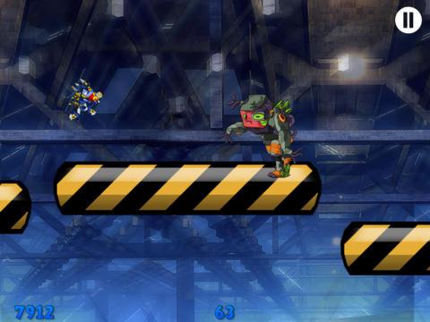 A Future Kid Robot Run & Gun Fight Game