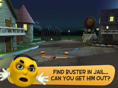 BusterBall - Slingshot Bowling
