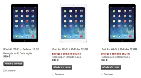 El iPad Air ya está disponible en España en iPaderos