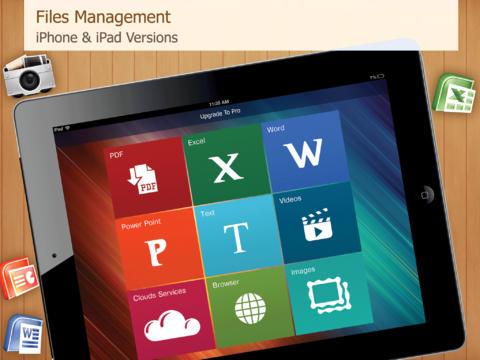File Management and PDF,PPT,DOC,XLS Reader Pro