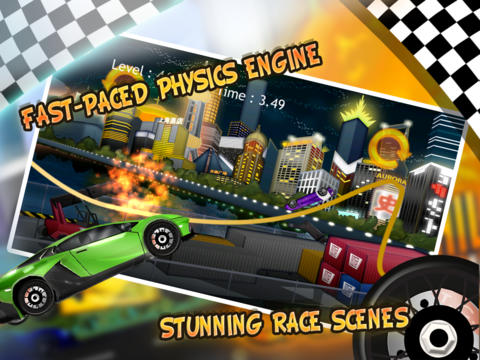 Motor Hill Car Racing FREE