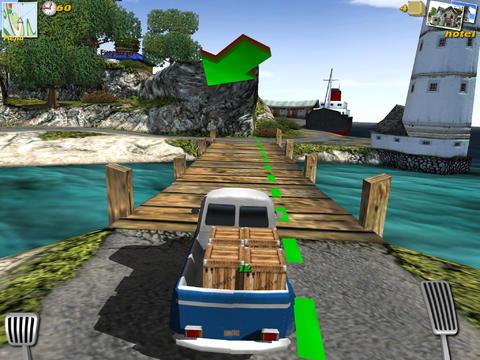 Parcel Panic - Post Car Racer 3D